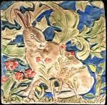 William Morris Hare from the Forest Tapesty